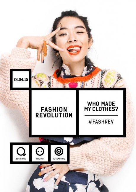 Fuori le etichette, il 24 aprile la rivoluzione è fashion