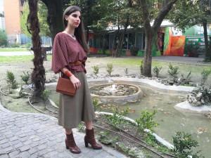 NonAprireQuellArmadio-blusa burgundy-garden
