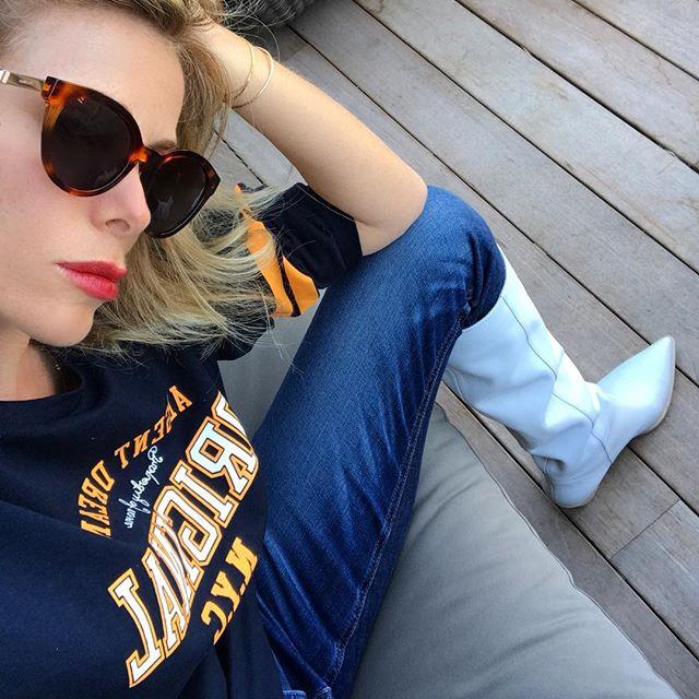 Lo stile vintage di Alessia Marcuzzi