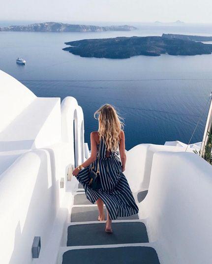 Santorini, l'isola del bianco